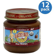 Earth's Best Stage 1 Prunes Baby Food, 70ml