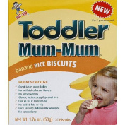 Toddler Mum-Mum Banana Rice Biscuits, 50ml,