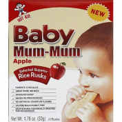 Baby Mum-Mum Apple Rice Rusks, 50ml,