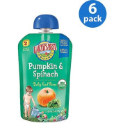 EB Puree Pumpkin & Spinach 100ml - Stage 2 Baby Food