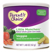 Parent's Choice Little Munchers Veggie Snacks, 45ml