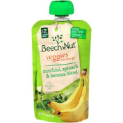 Beech-Nut Veggies On-the-Go Zucchini, Spinach & Banana Blend Stage 2 Baby Food, 100ml
