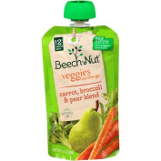 Beech-Nut Veggies On-the-Go Carrot, Broccoli & Pear Blend Stage 2 Baby Food, 100ml