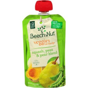 Beech-Nut Veggies On-the-Go Squash, Peas & Pear Blend Stage 2 Baby Food, 100ml