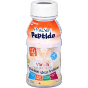 PediaSure Peptide 1.0 Cal Vanilla Medical Food, 240ml, 24 count