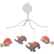 Bedtime Originals Jungle Sweeties Musical Mobile, Pink