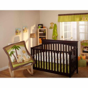 Disney Baby Bedding Lion King Wild About You 4-Piece Deluxe Crib Bedding Set