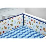 Disney Baby Bedding Nemo's Wavy Days Crib Bumper