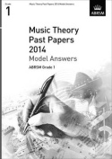 Music Theory Past Papers 2014 Model Answers, ABRSM Grade 1 (Theory of Music Exam Papers & Answers