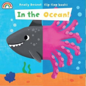 Flip Flap - In the Ocean (Flip Flaps) [Board book]