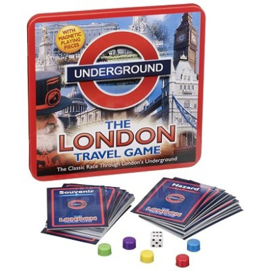 game underground the london travel game travel tin john adams by john adams shop online. Black Bedroom Furniture Sets. Home Design Ideas