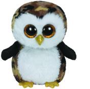 Owliver Camo Owl Beanie Boo SMALL