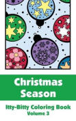 Christmas Season Itty-Bitty Coloring Book