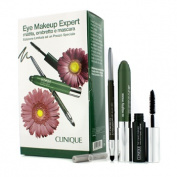 Eye Makeup Expert (1x Quickliner, 1x Chubby Stick Shadow, 1x High Impact Mascara) - Green, 3pcs