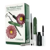 Eye Makeup Expert (1x Quickliner, 1x Chubby Stick Shadow, 1x High Impact Mascara) - Green, 3pcs