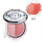 Blush Blossom Dual Cheek Color (With Brush) - # 10 Brilliant Marigold, 5g/0.17oz