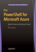 Pro PowerShell for Microsoft Azure