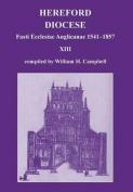 Fasti Ecclesiae Anglicanae 1541-1857