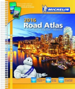USA Canada Mexico 2016 Road Atlas