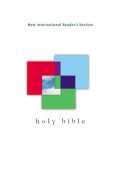 NIrV Outreach Bible