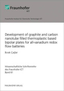 Development of Graphite and Carbon Nanotube Filled Thermoplastic Based Bipolar Plates for All-Vanadium Redox Flow Batteries