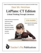 Litplan Lesson Plans, Critical Thinking Edition