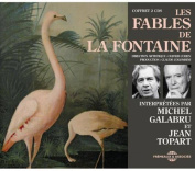 Fables de La Fontaines Interpretees Par Michel Galabru Et Jean Topart  [Audio]