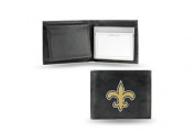 NFL - Men's New Orleans Saints Embroidered Billfold Wallet