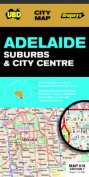 Adelaide Suburbs and City Centre Map 518 7th