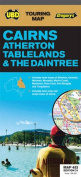 Cairns Atherton Tablelands and the Daintree Map 482