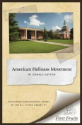 The American Holiness Movement