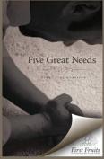 Five Great Needs