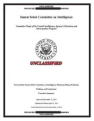 Report on the CIA Detention and Interrogation Program