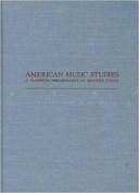 American Music Studies