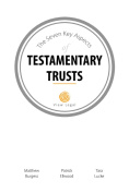 The Seven Key Aspects of Testamentary Trusts