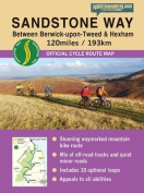 Sandstone Way Cycle Route Map - Northumberland
