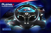 Playmax Officially Licensed Hurricane Wheel - PS3/PS4