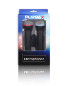 Playmax Wired Microphone (Double Pack) - PS3/PS4