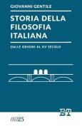 Storia Della Filosofia Italiana Dalle Origini Al XV Secolo [ITA]