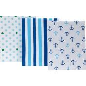 Little Bedding by NoJo Splish Splash Set of 3 Crib Sheets