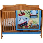 Riegel Under Construction 3-Piece Crib Bedding Set