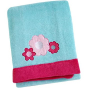 Applique Coral Blanket, Available in Multiple Patterns