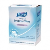 PURELL Pre-moistened Sanitising Hand Wipes, 40/Box