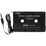 Isound ISOUND-1642 Stereo Cassette Adapter