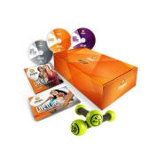 Zumba Gold LIVE IT UP 3-DVD Set for Baby Boomers