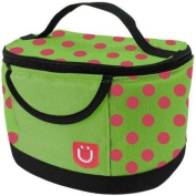 ZUCA Spotz LunchBox (Green with Pink spots, and black Trim) / 89055900387