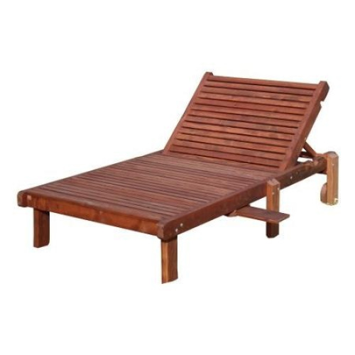 Best redwood wide sun chaise lounge brand new for Best price chaise lounge