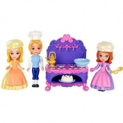 Disney Sofia the First Sofia, Amber and James Baking Play Set