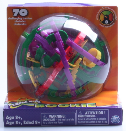 Perplexus 3D Puzzle Ball, Rookie. Delivery Is Free