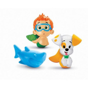 Fisher-Price Bubble Guppies Nonny, Bubble Puppy and Lobster
